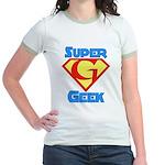 Super Geek Jr. Ringer T-Shirt