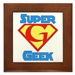 Super Geek Framed Tile