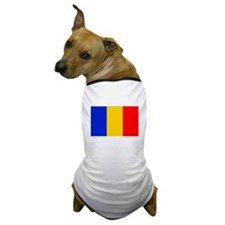 Chad Flag Dog T-Shirt