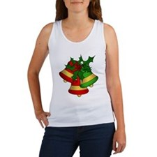 Christmas Bells and Holly Tank Top