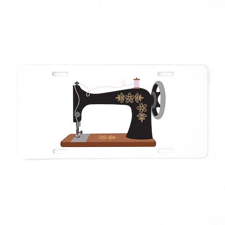 sewing machine plate