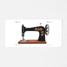 Sewing Machine 1 Aluminum License Plate
