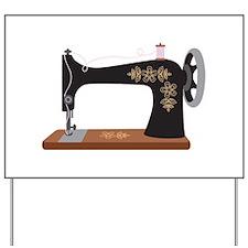 Sewing Machine 1 Yard Sign