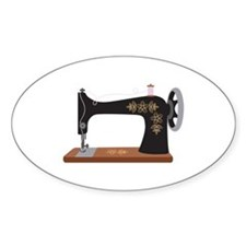 Sewing Machine 1 Decal