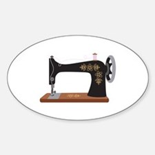 sewing machine decal