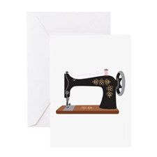 Sewing Machine 1 Greeting Cards
