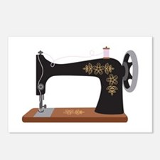Sewing Machine 1 Postcards (Package of 8)
