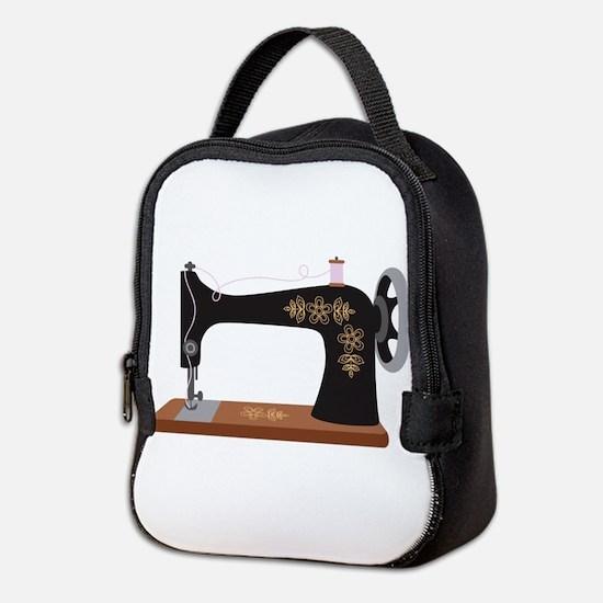Sewing Machine 1 Neoprene Lunch Bag