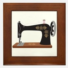 Sewing Machine 1 Framed Tile