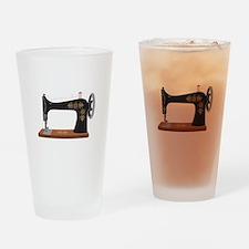 Sewing Machine 1 Drinking Glass