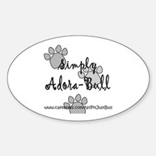 Adora-Bull Oval Decal