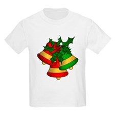 Christmas Bells and Holly T-Shirt