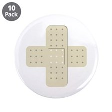 "Bandaid Bandages 3.5"" Button (10 pack)"