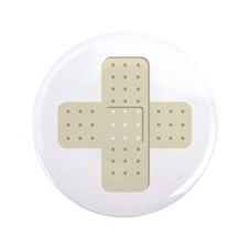 "Bandaid Bandages 3.5"" Button"