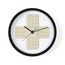 Bandaid Bandages Wall Clock