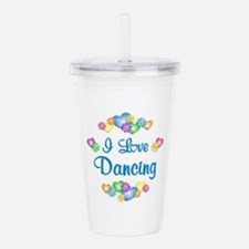 I Love Dancing Acrylic Double-wall Tumbler