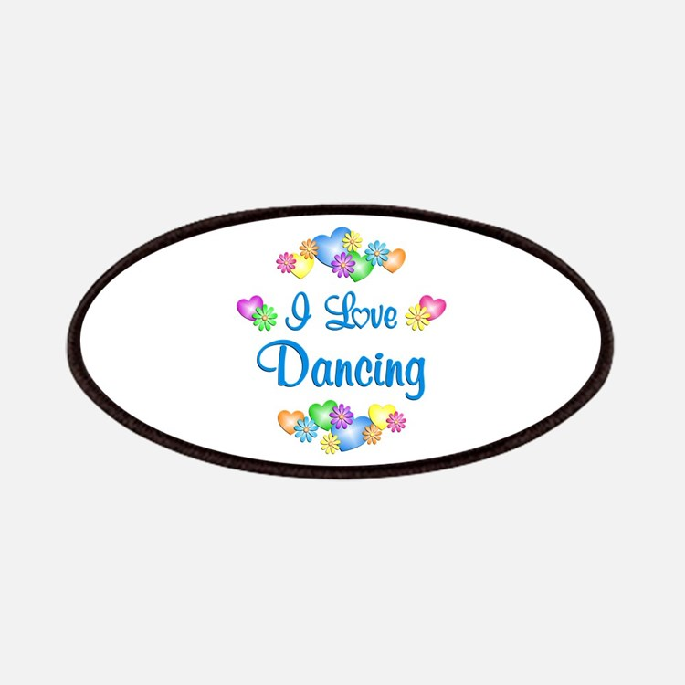 I Love Dancing Patches
