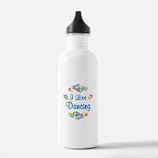 I Love Dancing Water Bottle