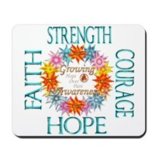 Faith Strength Courage CRPS RSD Awarenes Mousepad