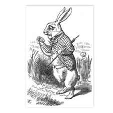 White Rabbit Postcards (Package of 8)