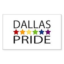 Dallas Pride Rectangle Decal