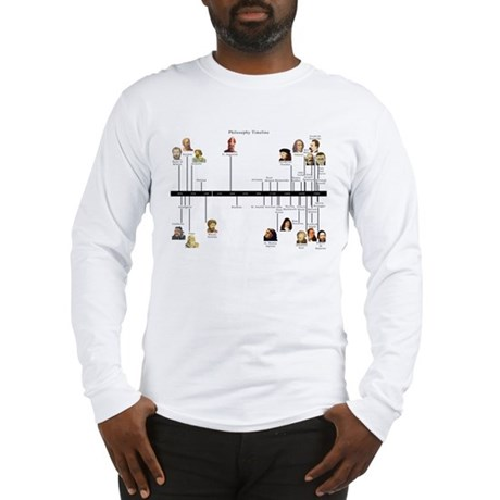 Philosophy Timeline Long Sleeve T-Shirt