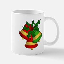 Christmas Bells and Holly Mugs