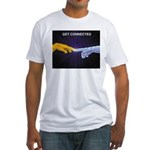 Get Connected Fitted T-Shirt