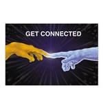 Get Connected Postcards (Package of 8)