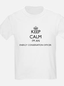 Keep calm I'm an Energy Conservation Offic T-Shirt