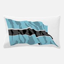Botswana Flag Pillow Case