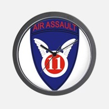 11th Air Assault Div Wall Clock