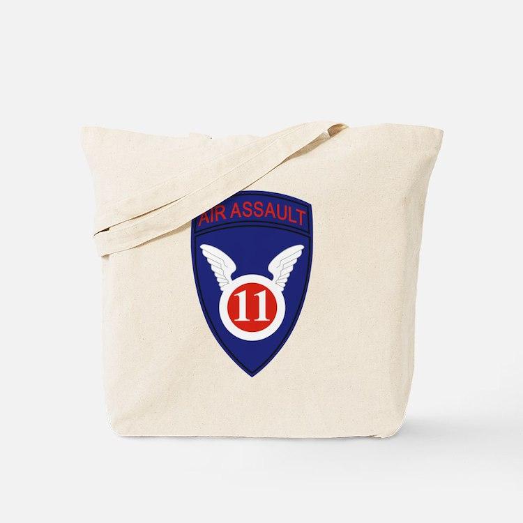 11th Air Assault Div Tote Bag