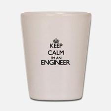 Keep calm I'm an Engineer Shot Glass