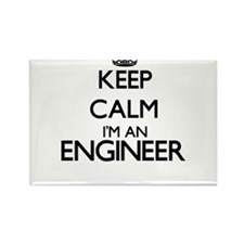 Keep calm I'm an Engineer Magnets