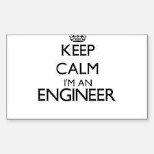 Keep calm I'm an Engineer Decal