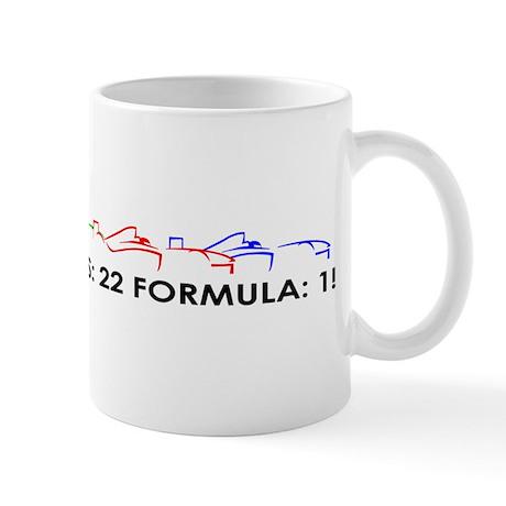 F1 GRID Mug