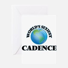 World's Sexiest Cadence Greeting Cards