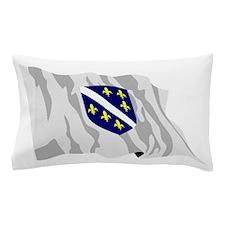 Bosnia Herzegovina Flag Pillow Case