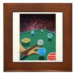 Planet Pool Framed Tile