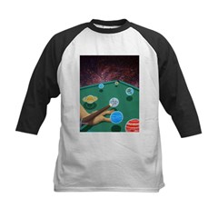 Planet Pool Kids Baseball Jersey