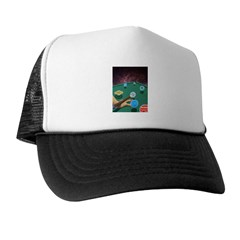Planet Pool Trucker Hat