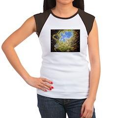 Toaster Passes Nebula Women's Cap Sleeve T-Shirt