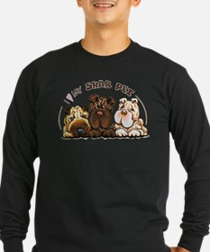 Chinese Shar Pei Lover Long Sleeve T-Shirt