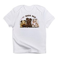 Chinese Shar Pei Lover Infant T-Shirt
