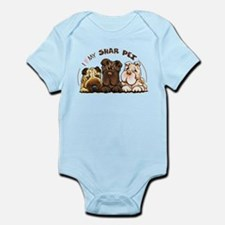 Chinese Shar Pei Lover Body Suit