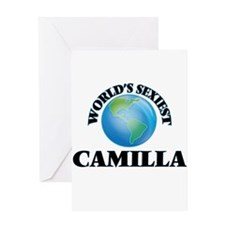 World's Sexiest Camilla Greeting Cards