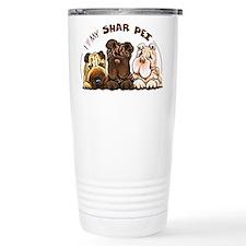 Chinese Shar Pei Lover Travel Mug