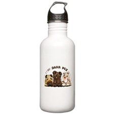 Chinese Shar Pei Lover Water Bottle