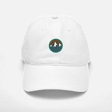 Mountain Circle Baseball Baseball Baseball Cap